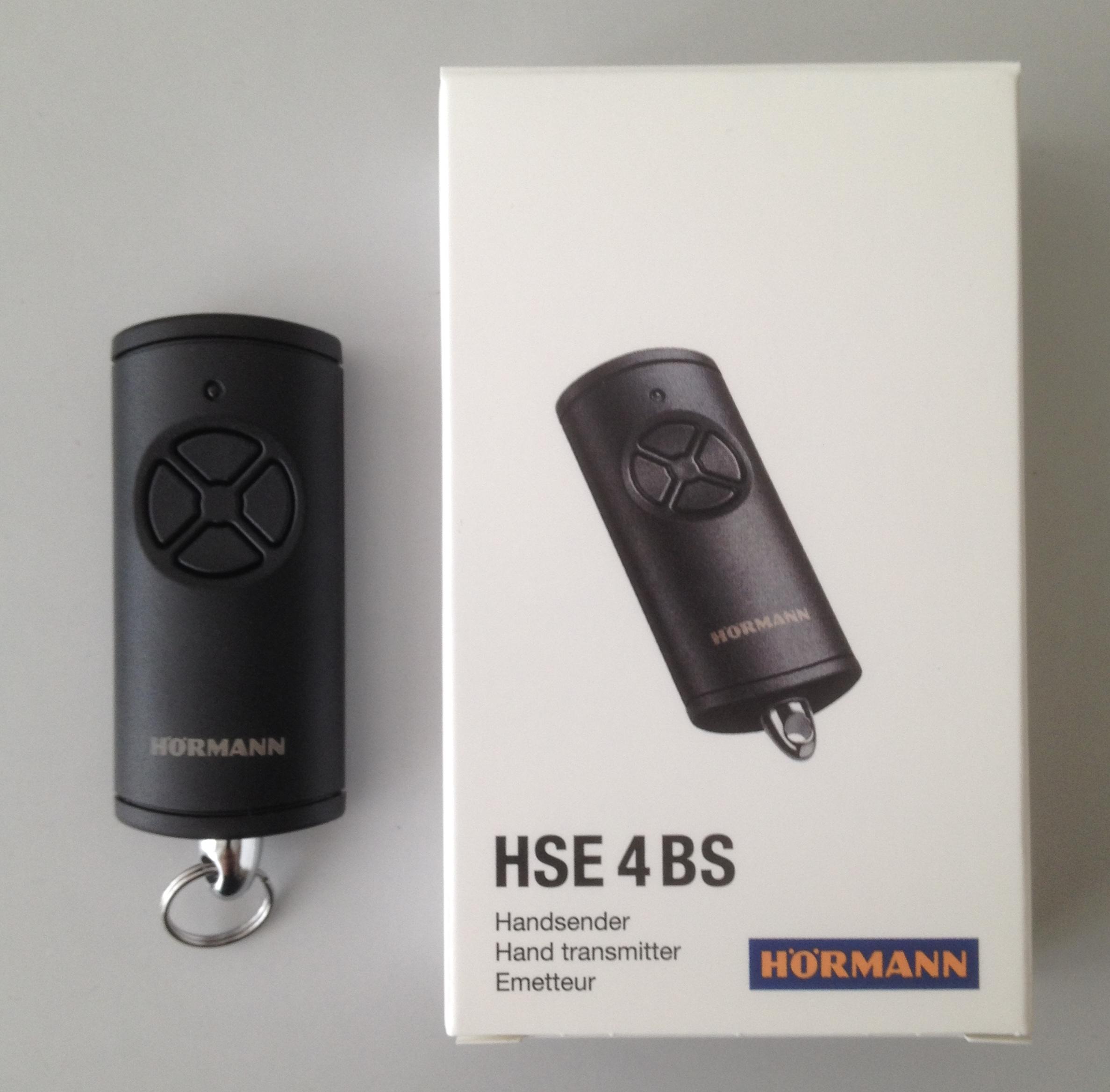 h rmann handsender hse4 bs 868 3 mhz 4511736. Black Bedroom Furniture Sets. Home Design Ideas