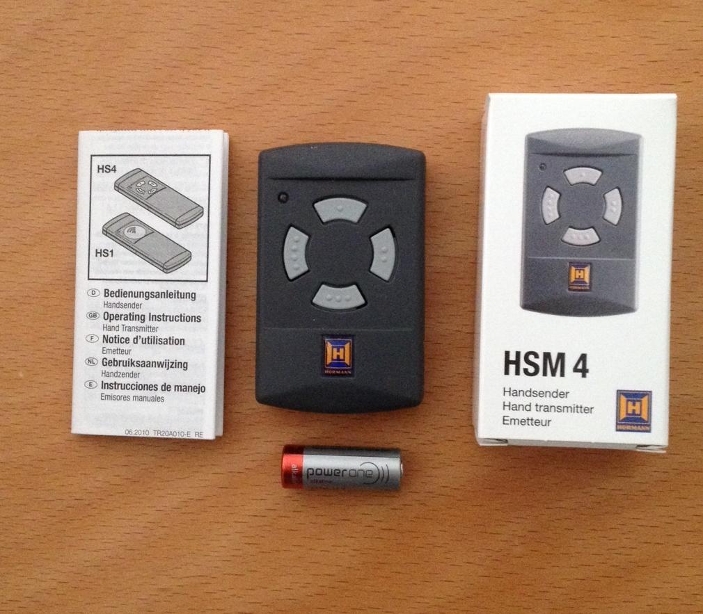 h rmann handsender hsm4 40 685 mhz 437014. Black Bedroom Furniture Sets. Home Design Ideas
